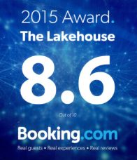 The Lakehouse Receives 2015 Award from Booking.com